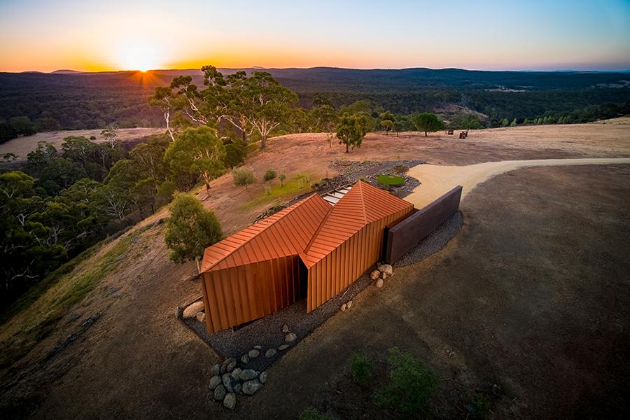 Breakneck Gorge Oikos Wins Architecture MasterPrize
