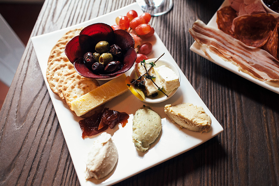 Hepburn Springs Tasting Plate